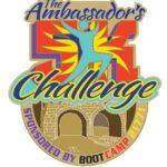 THE AMBASSADORS 5K RUN LOGO